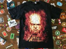 "Kane WWE ""Burn In Hell"" Men's T-Shirt SZ M  Authentic 2007 WWE WWF Merch"