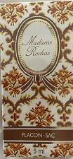 VINTAGE MADAME ROCHAS PARFUM 5ml AUTHENTIC PURE PERFUME SEALED handbag size RARE