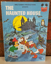 Disney's Wonderful World of Reading - The Haunted House - Vintage Reading Book