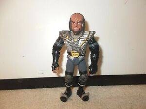 Action Figure Star Trek TNG Worf in Klingon Armor Armour approx 5 inch loose