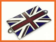 BANDIERA UNION JACK metallo smalto Badge Emblema Auto Classica