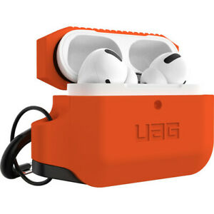 UAG Urban Armor Gear Silicone Case for Apple AirPods Pro Soft-touch Orange/Black