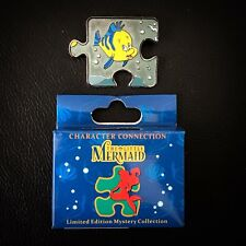LE Flounder Ariel Little Mermaid Character Connection Mystery Puzzle Disney Pin