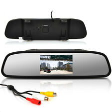 """Car Accessories 4.3"""" LCD Car Rearview Mirror Monitor For Reverse Backup Camera"""
