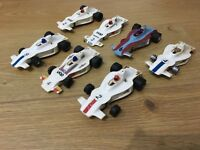 Scalextric Car UOP Shadow White C012 Job Lot Of 7 Cars