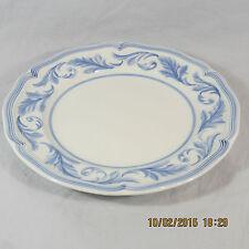 Villeroy & Boch Casa Azul Ornato Salad Plate white blue leaf plume rim scallop