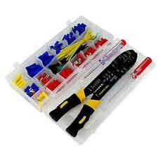 273pc Assorted Electrical Terminals & Crimping Pliers wiring automotive
