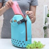 Insulated Lunch Bag Cooler Picnic Travel Food Box Women Tote Carry Bags CF