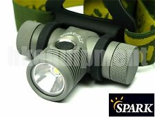 Spark ST6-500CW ST6-500 CW Cree XP-L LED Headlamp+Ultrafire 18650+Charger