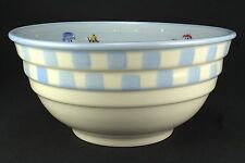 Hartstone Snow People Large Mixing Bowl Ribbed