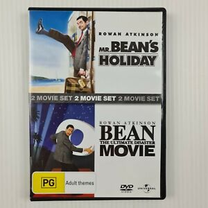 Mr Bean's Holiday + Bean the Ultimate Disaster Movie - 2 Disc DVD - Region 2,4