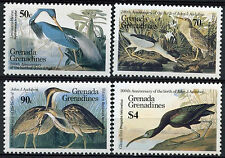 Grenadines Grenada 1986 SG#736-9 Ornithologist Birds MNH Set #A89352