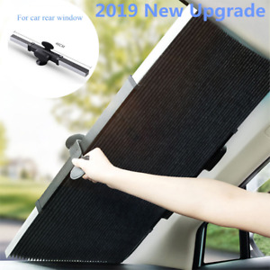 2019 New Folding Car Windshield Visor Curtain UV Screen Rear Shade Blinds 46cm