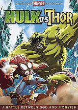 Hulk Vs Thor DVD marvel region 2 the battle of god vs monster new and sealed