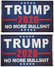 3x5 Trump 2020 No More BullSh*t Blue 150D Woven Poly Nylon Double Sided 5x3 Flag