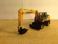 HO 1:87 Promotex # 6480 New Holland We170 Wheeled Excavator  Great for Railroad