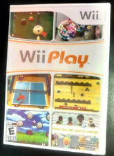 Wii Play (Nintendo Wii, 2007) GAME ONLY [Tanks + more] Y-Folds BRAND NEW SEALED