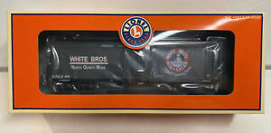 Lionel O Scale White Brothers Milk Reefer Car #891