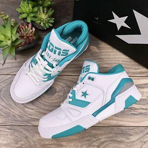 NIB Converse ERX 260 Low Top Leather Sneaker Basketball White Turbo Green 10