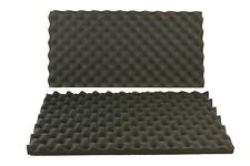 2 PACK Egg Crate Soundproofing Acoustic Wedge Foam Tiles Wall Panels 24X 12 X1/5