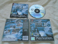 WWF Smackdown 2 PS1 (COMPLETE) black label wrestling game Sony PlayStation WWE