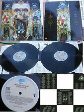 MICHAEL JACKSON-DANGEROUS 2 LP NEAR MINT!  GREEK G/F 1991