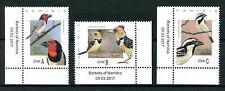 Namibia 2017 MNH Barbets of Namibia 3v Set Birds Stamps