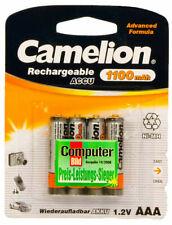 4 X Camelion Batteries AAA 1100 MAH pour Gigaset C570 C570HX C570A E630A S850A