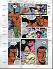 Original vintage Spider-man Marvel color guide art page: MANY MORE IN OUR STORE!