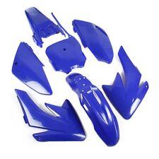 HMParts Verkleidung SET Dirt Bike Pit Bike CRF 70 - Style Typ 6 blau