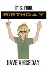 Bon Jovi Birthday Card Bonjovi Music Brother Husband Dad Girlfriend Wife Sister