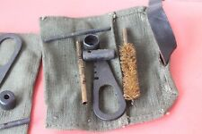 WWII ORIGINAL RUSSIAN MOSIN NAGANT RIFLE CLEANING KIT - CLEANING TOOLS W/H POUSH