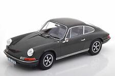 Norev 1971 Porsche 911 S movie Le Mans Steve McQueen Dark Grey 1/18 LE1000 New!