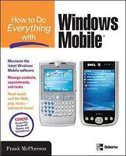 How to Do Everything with Windows Mobile, Mcpherson, Frank, New Book