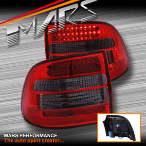 Smoked Red LED Tail Lights for PORSCHE CAYENNE 955 9PA 2003-2006 Turbo S GTS