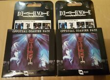 2 x deathnote official coaster packs new