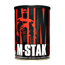 Universal Nutrition ANIMAL M-STAK 21 packs POTENT MUSCLE BUILDING SUPPLEMENT