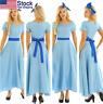 US_ Women Adults Fancy Ball Princess Cosplay Long Dress  Party Fancy Maxi Dress