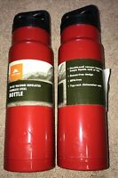 2-Pack Ozark Trail 24 oz Vacuum Insulated Stainless Steel Water Bottle RED