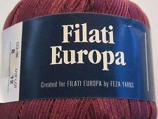 x1 Filati Europa Ribbon Rapture   Ribbon Yarn  Dk Mauve