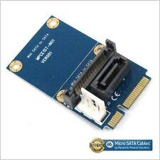 SATA to Mini SATA Adapter with SATA Power