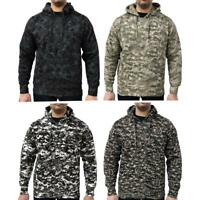 Game Mens Military Camo Hoodie Digital Camouflage Hooded Top