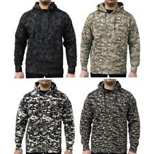 7dcd5481d156e Game Mens Military Camo Hoodie Digital Camouflage Hooded Top