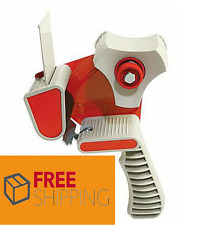 "1 HEAVY DUTY METAL TAPE GUN HAND DISPENSER PARCEL PACKAGING 2"" 50MM"