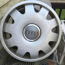 "OEM 97- 05 Audi A3 A4 A6 A8 Hubcap 16"" Wheel Cover # 4B0 601 147C Used Free S&H"