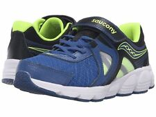 Saucony Youth Kotaro 3 Blue/Black/Citron Boys SC56182  SZ 5 MED  1084