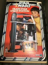 Star Wars 1977 Vintage Kenner Death Star Space Station Playset ~ AS IS
