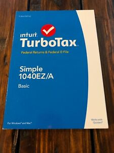 2014 Intuit Turbo Tax Federal Returns & E-File Simple 1040EZ/A Basic NEW SEALED