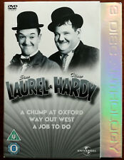 Laurel & Hardy 3 Disc anthology 3 x DVD Set – 824 4008 – Ex / Ex / VG