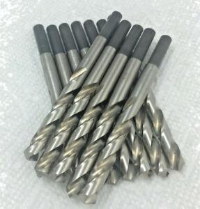 """Irwin 12 PCS 9/32 X 1/4"""" Shank, Metal Working Drill Bit, Bright, HSS 118 Point"""